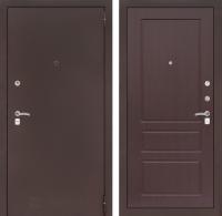 Входная дверь CLASSIC антик медный 03 - Орех премиум