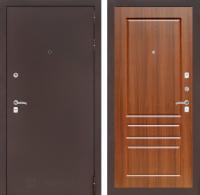 Входная дверь CLASSIC антик медный 03 - Орех бренди
