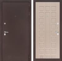 Входная дверь CLASSIC антик медный 04 - Беленый дуб