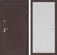 Входная дверь CLASSIC антик медный 06 - Белое дерево