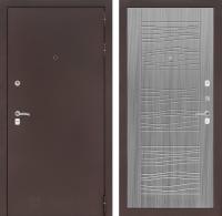 Входная дверь CLASSIC антик медный 06 - Сандал серый