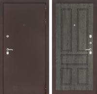 Входная дверь CLASSIC антик медный 10 - Дуб филадельфия графит