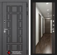 Входная дверь NEW YORK с Зеркалом Максимум - Венге