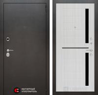 Входная дверь SILVER 02 - Сандал белый