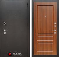 Входная дверь SILVER 03 - Орех бренди