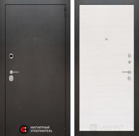 Входная дверь Сильвер 07 - Перламутр горизонтальный