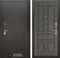 ходная дверь Сильвер 10 - Дуб филадельфия графит