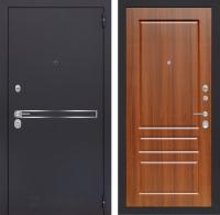 Входная дверь LINE 03 - Орех бренди
