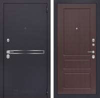 Входная дверь LINE 03 - Орех премиум
