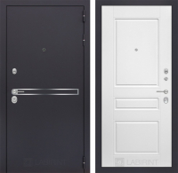 Входная дверь Лайн 03 - Белый софт