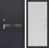 Входная дверь LINE 06 - Белое дерево