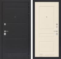 Входная дверь Лофт 03 - Крем софт