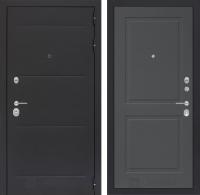 Входная дверь Лофт 11 - Графит софт
