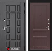 Входная дверь Нью-Йорк 03 - Орех премиум