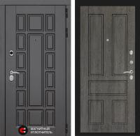 Входная дверь Нью-Йорк 10 - Дуб филадельфия графит