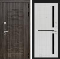 Входная дверь SCANDI Дарк грей 02 - Сандал белый