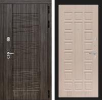 Входная дверь SCANDI Дарк грей 04 - Беленый дуб