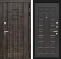 Входная дверь SCANDI Дарк грей 04 - Венге