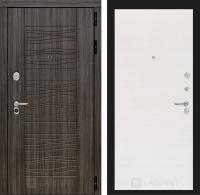 Входная дверь SCANDI Дарк грей 07 - Перламутр горизонтальный