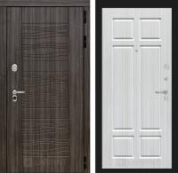 Входная дверь SCANDI Дарк грей 08 - Кристалл вуд