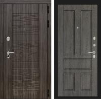 Входная дверь SCANDI Дарк грей 10 - Дуб филадельфия графит