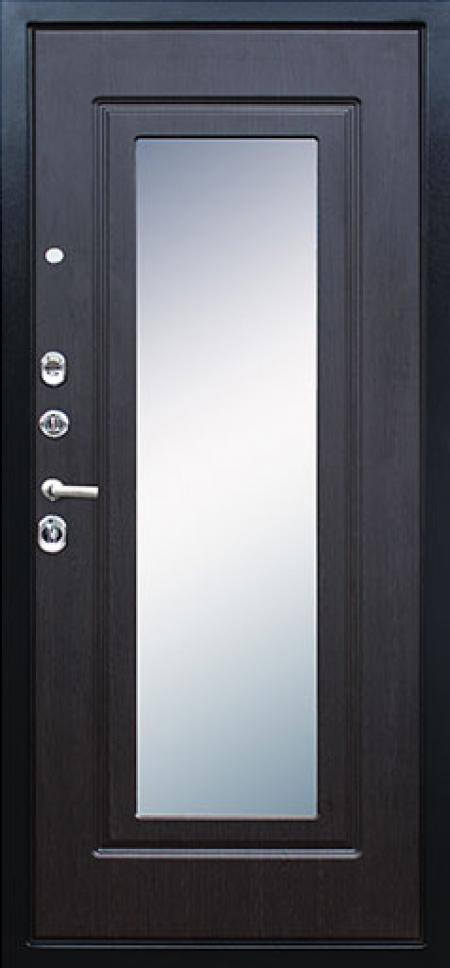 Стальная дверь «Викинг (с зеркалом)»